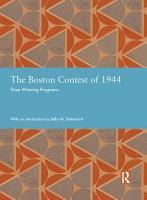 The Boston Contest of 1944 PDF
