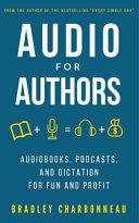 Audio for Authors
