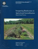 Integrating Biodiversity in Agricultural Intensification PDF