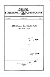 Physical Education  Grades I VII PDF