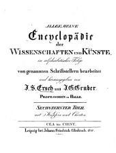 Allgemeine Encyklopädie der Wissenschaften und Künste: in alphabetischer Folge. Cea - Chiny. 1 ,16