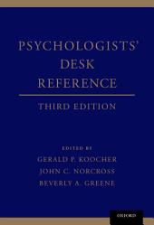 Psychologists' Desk Reference: Edition 3
