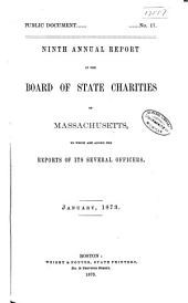 Annual Report of the Board of State Charities of Massachusetts: Volume 9
