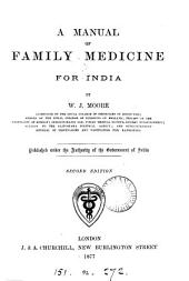 A manual of family medicine for India