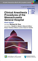 Handbook of Clinical Anesthesia Procedures of the Massachusetts General Hospital PDF