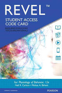 Revel for Physiology of Behavior    Access Card