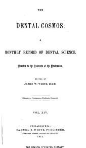 The Dental Cosmos: Volume 14