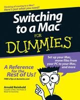 Switching to a Mac For Dummies PDF