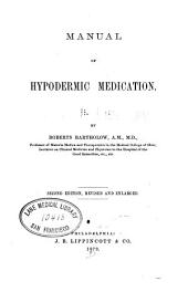 Manual of Hypodermic Medication