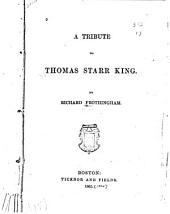 A Tribute to Thomas Starr King