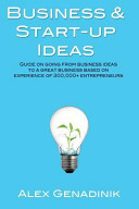 Business   Start Up Ideas Book