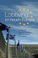 Lobbying im neuen Europa PDF