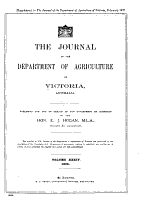 The Journal of the Department of Agriculture  Victoria PDF