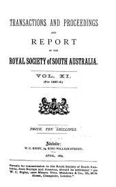 Transactions: Volumes 11-13