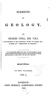 Elements of Geology: Volume 1