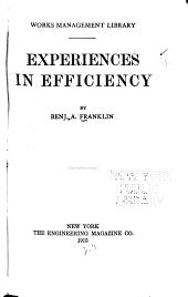 ... Experiences in Efficiency