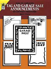 Easy to Duplicate Tag and Garage Sale Announcements PDF