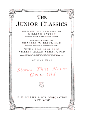 The Junior Classics  Stories that never grow old PDF