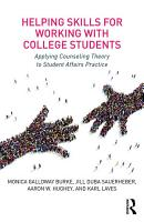 Helping Skills for Working with College Students PDF