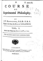 A Course of Experimental Philosophy