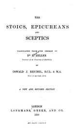 The Stoics, Epicureans, and Sceptics