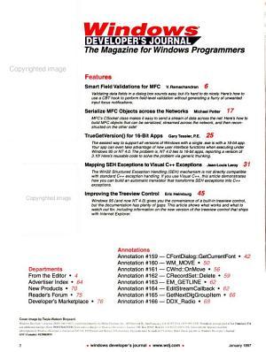 Windows Developer s Journal