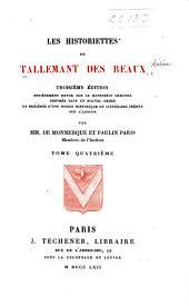 Les historiettes de Tallemant des Réaux: Volume4