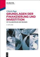 Grundlagen der Finanzierung und Investition PDF