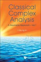 Classical Complex Analysis PDF