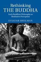 Rethinking the Buddha PDF
