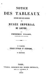 Notice des tableaux exposés dans les galeries du Musée impérial du Louvre