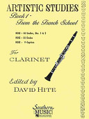 Artistic Studies for Clarinet  Book 1 PDF
