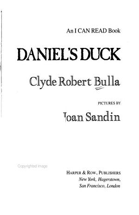 Daniel s Duck