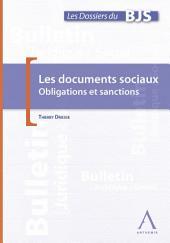 Les documents sociaux dans l'entreprise: Obligations et sanctions