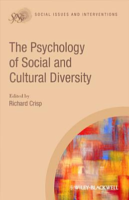 The Psychology of Social and Cultural Diversity PDF