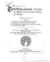 Leabhar imuinn: the book of hymns of the ancient church of Ireland, Volume 1
