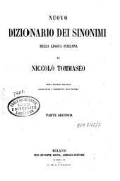 Nuovo dizionario dei sinonimi della lingua italiana: Volume 2