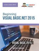 Beginning Visual Basic  Net 2015 PDF