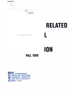 Abstracts of Research and Related Materials in Vocational and Technical Education PDF