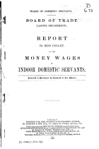 Wages of Domestic Servants