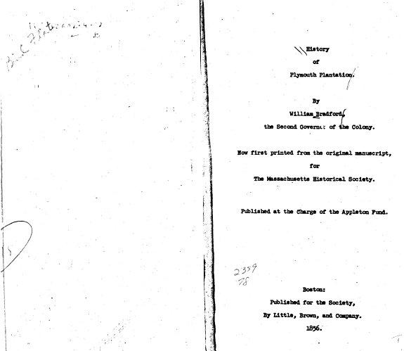 History of Plymouth Plantation PDF