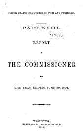 Report of the Commissioner for ...: Volume 18