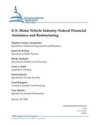 U. S. Motor Vehicle Industry
