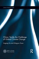 China  Tackle the Challenge of Global Climate Change PDF