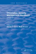 Information Security Management Handbook