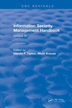 Information Security Management Handbook PDF
