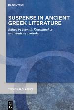 Suspense in Ancient Greek Literature