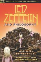 Led Zeppelin and Philosophy PDF