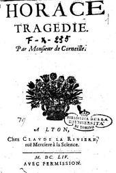 Horace tragedie. Par monsieur de Corneille: Page79