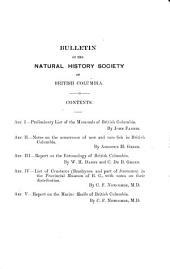 Bulletin: Issues 1-3
